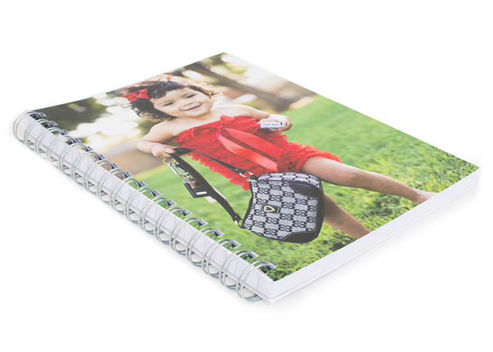 notebook with girl on it