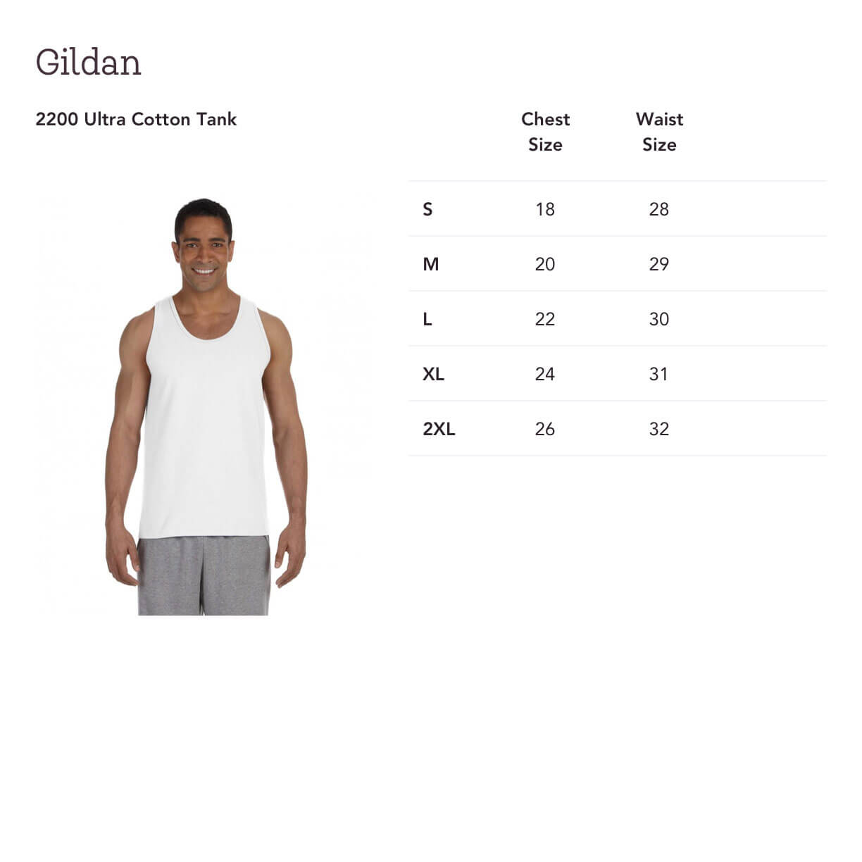 16731728e4 This 100% preshrunk cotton Ultra Cotton Tank Top from Gildan will switch up  your workout wardrobe with its classic fit and its ability to keep moisture  away ...