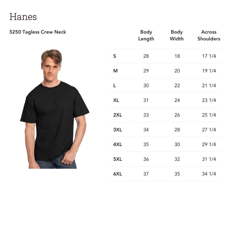 4cb208315d7a Print On Demand Hanes 5250 Tagless Crew Neck | Gooten