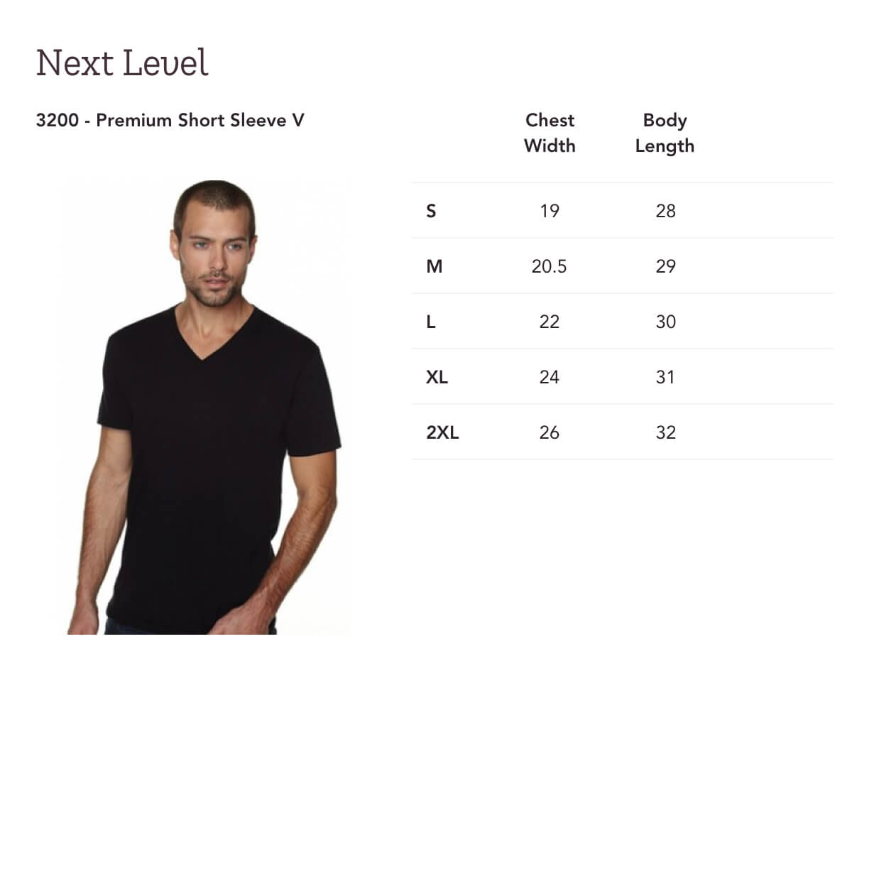 ff96b6a10 These premium v-neck tees are always kept in-stock at our vendor. This  means production time is limited to just the time it takes to print and  package (avg.