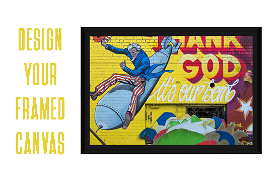 Print Framed Canvas Wraps Online