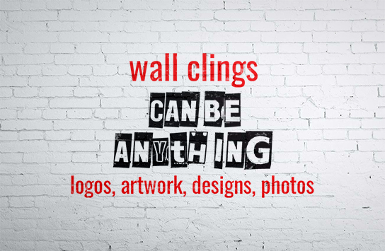 Print Wall Clings Online