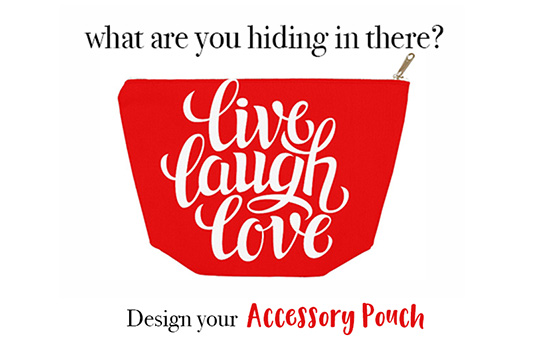 Print DIY Accessory Pouches Online
