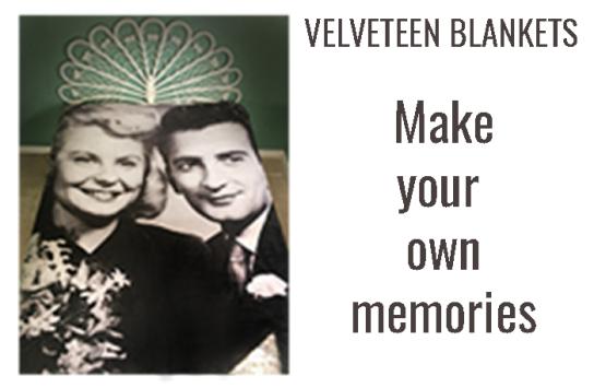 Print Velveteen Blankets Online