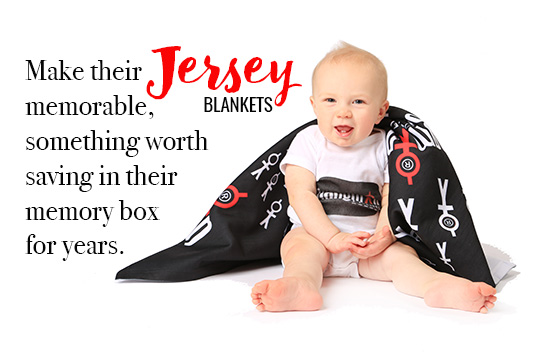 Print Jersey Blankets Online