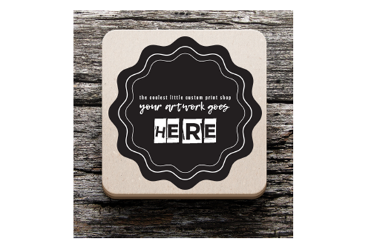 Print Disposable Coasters Online