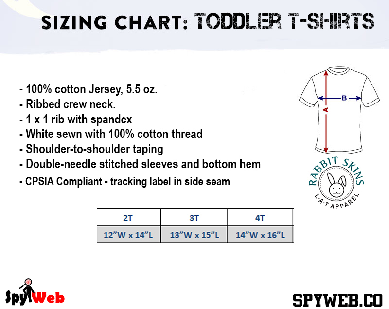 3t 4t Sizing Chart