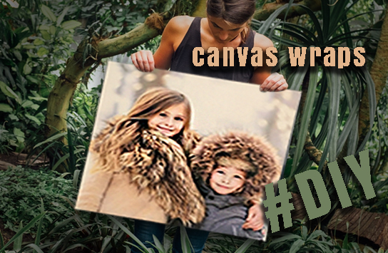 Print DIY Canvas Wraps Online