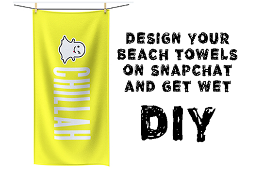 Print DIY Beach Towels Online