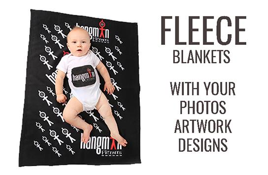 Print Fleece Blankets Online